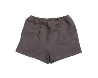 Baby boy linen shorts