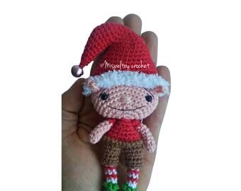 Kerst Elf ornament