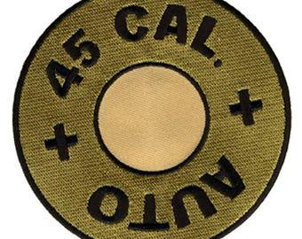 45 Caliber Bullet Patch