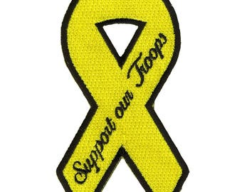 Support Our Troops Ribbon Patch