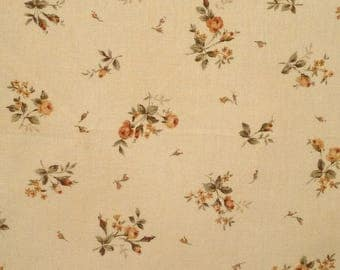 Coupon 50 x 54 cm patchwork collection of antique pink, fabric brand Lecien