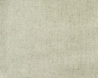 Coupon 70 x 75 linen 14 son canvas Floba superfine Zweigart