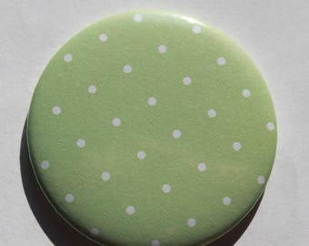 Pattern Pocket mirrors peas