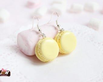 BO - Macaroons yellow Pastel lemon