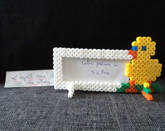 place 5 brands / mini Easter chick frames