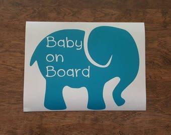 Elephant Baby on Board