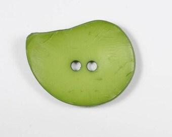 4 large buttons drop moss green