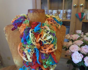 Multicolor scarf made by frou frou
