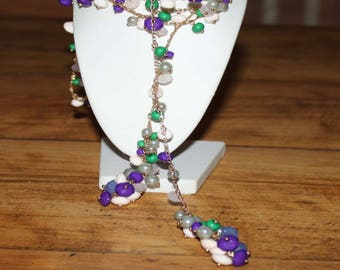 OPEN BEAD NECKLACE