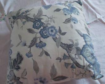 Pretty damask pillow