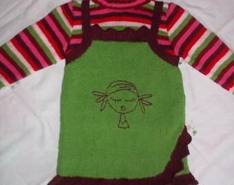 Girls striped sweater set for Andi