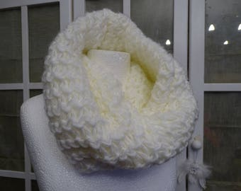 Snood round neck, adult scarf