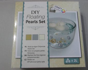 Kit to make your own beads and floating candles