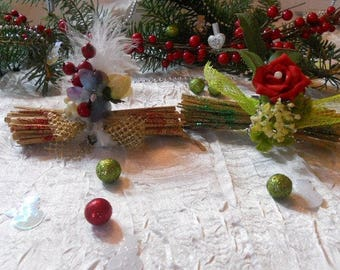 Mini Christmas centerpiece or trademark placed
