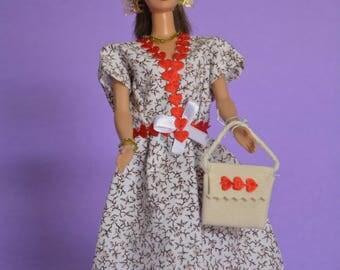 Short dress for Barbie (B138)