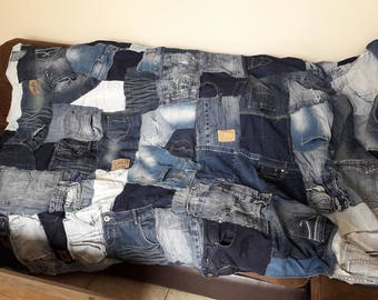 Great plaids fleece and recycled denim