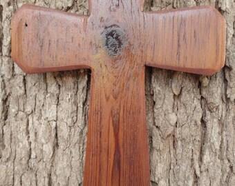 Beautiful barn wood cross