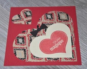 LOVE CARD / VALENTINE JC6