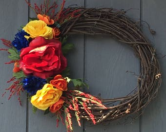 Bright Cheery Wreath