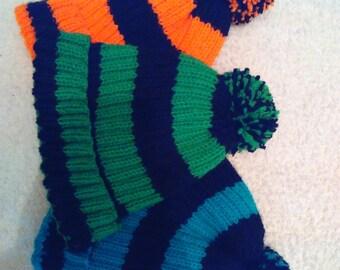handmade acrylic wool knitted Hat