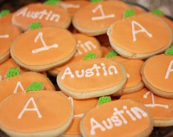 Pumpkin Cookies, Halloween Cookies, Halloween Party, Decorated Cookies