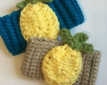 Pineapple Cup Cozy