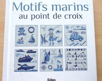 Book - sailors in cross stitch patterns