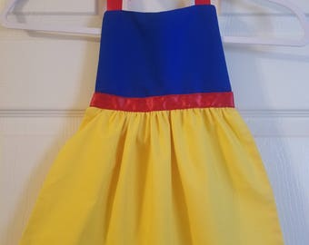 Snow White Dress Up Apron
