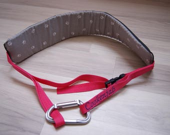 Fully customizable ride or canicross belt