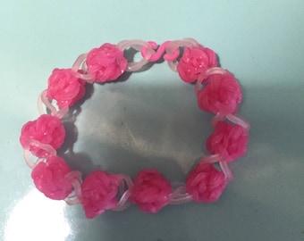 Rainbow Loom bracelet beads elastic