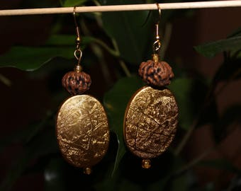 Pair of earrings chic Ethnik