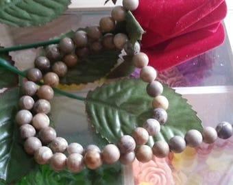 yarn of 50 8 mm hole, 1 Chrysanthemum beads mm