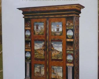 Paperback book titled JP Besenval furniture painting