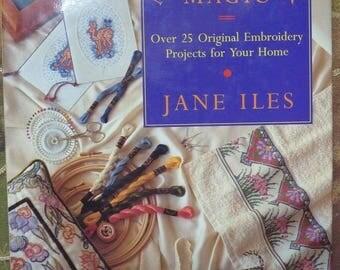 """Paperback in English """"Needlework Magic"""""""