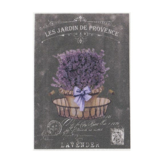 """Applied fusible - Collection """"Lavender background chalk"""" AT404-6"""