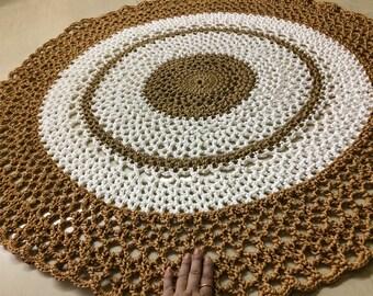 Handcrafted Crochet Mat