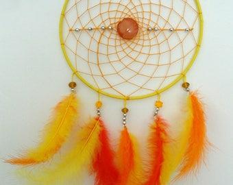 Dream catcher / Dreamcatcher pop modern yellow and orange