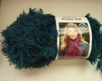 150g skein wool Sheila Soft of Schachenmayr - 7-8 needles - Green