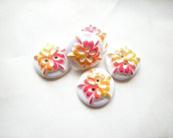 Variation of orange buttons