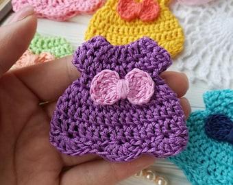 Small crochet dress PATTERN