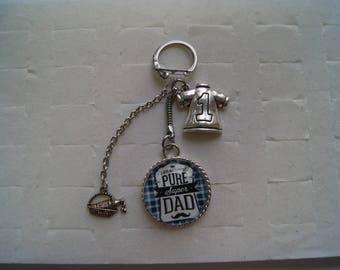 """dad"" keychain"