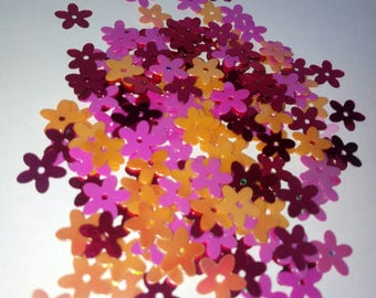Set of 100 10 mm scrapbooking flowers