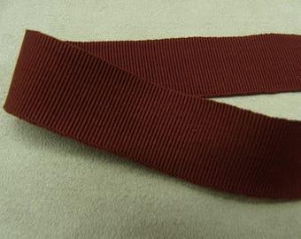 Ribbon decorative grosgrain - 2 cm - Burgundy