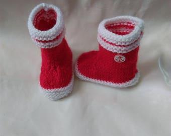 Baby / reborn wool 0/3 months form rain boots