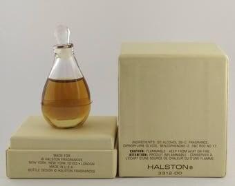 Vintage Perfume Halston Pure Perfume 0.25 oz 7.5 ml