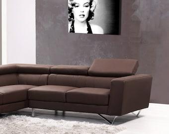 Portrait on canvas luxury Marilyn 55 x 80