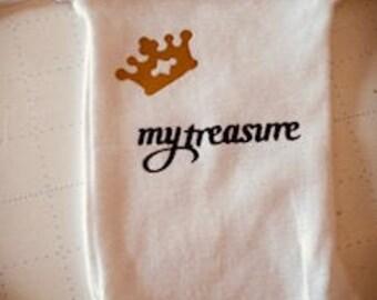 Preemie long sleeve bodysuit