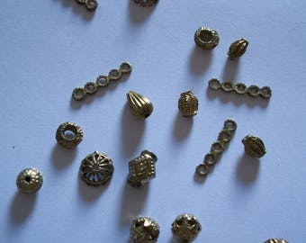 Separator beads 17 pieces Jewelry Accessories