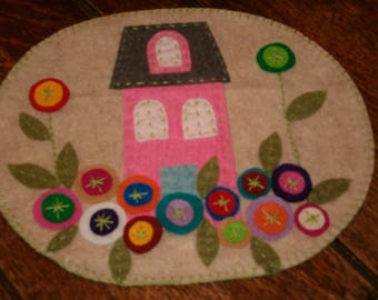 Penny Candle Mat