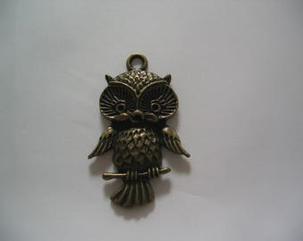 Large bronze charm - dimensions 44mm (BR074)